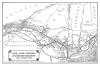 Der Streckenplan der NYO&W Railway, die die Kohle auf direktem Weg von den Minen zum Antlantik und den großen Seen transportiert hat.