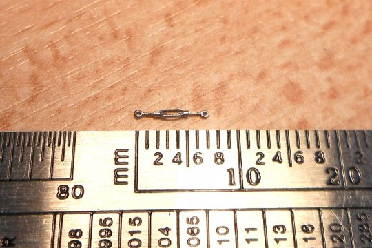... etwas weniger als sieben Millimeter lang!