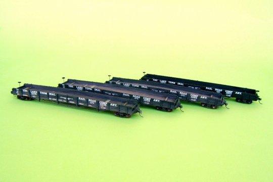 Der Abschluss - auch die restlichen vier Modelle sind fertig! Können Sie die gealterten Modelle von dem neuen unterscheiden? Sicher!