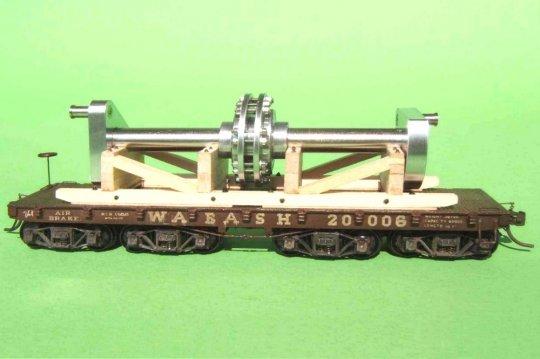 Mein Modell #20006 nach dem Original der Wabash RR. ...