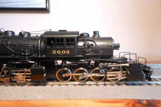 ... die bereits 1907 bei ALCO gebaut wurde, genau drei Jahre nach der ersten US-amerikanischen Mallet überhaupt.