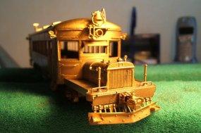 Ein rail coach der New Haven RR. - ein ganz besonders Fahrzeug auf Rädern!