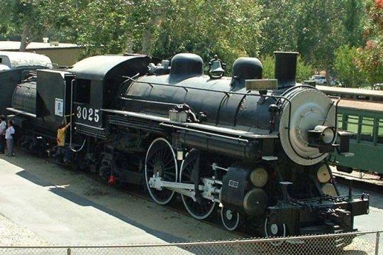 Eine der class A-3 Lokomotiven der Southern Pacific, aus denen die Loks der class A-6 entstanden sind.