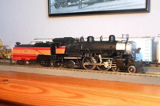 Ein Brass-Modell von Westside und nun schon fast 40 Jahre alt, aber in einem Top-Zustand. Japanische Handarbeit, die es so leider nicht mehr gibt.