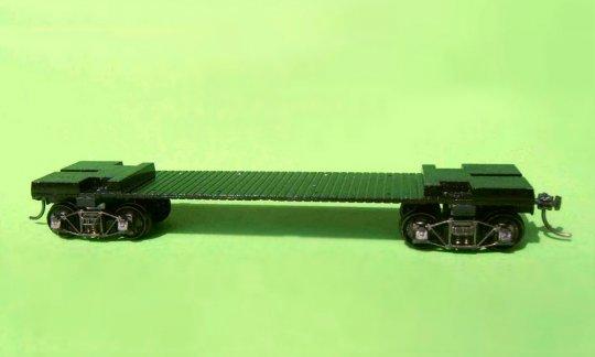 Das Fahrwerk ist schon wieder brauchbar - natürlich mit neuen Drehgestellen und mit einer Dreipunktauflage!