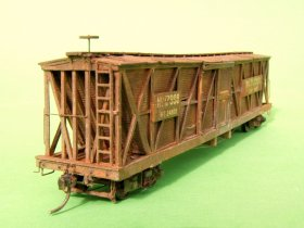 Old time boxcar von 1867