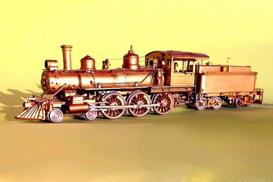 Virginia & Truckee no. 25 ist nun für den geplanten Zug angekommen! Wenn auch noch ohne Farbe und die Digitalisierung ist natürlich auch erforderlich.