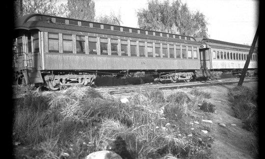 Ein historisches Foto vom originalen Coach no. 18, bevor er 1940 zur Combine umgebaut wurde. Vielen Dank für die Möglichkeit der Nutzung - courtesy Nevada State Railway Museum, Carson City.