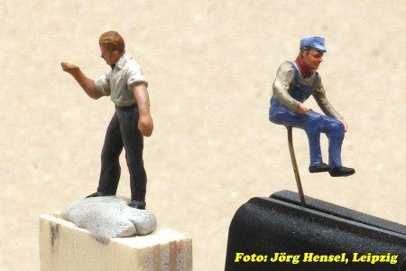 Und das Personal des Cabooses ist auch schon in Wartestellung! Nochmals eine sehr schöne Arbeit meines Leipziger Freundes Jörg.