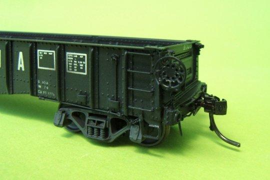 Aber das Modell ist eben auch wunderbar detailliert, wenigstens nach meiner Überarbeitung.