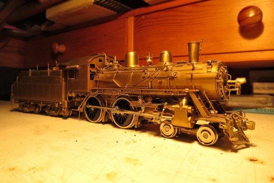 Sechs Lokomotiven dieser Klasse wurden für die St. Louis-San Francisco Railway, kurz Frisco, schon 1899 gebaut, ...