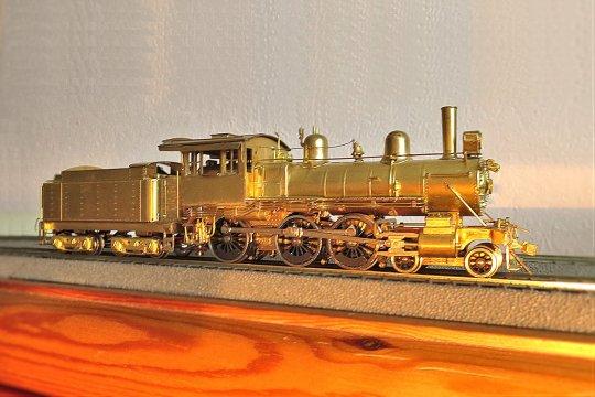 Ein kleiner Ten-wheeler der Chicago, Burlington & Quincy RR. Eine kleine Personenzuglok, die aber durchaus auch für den leichten Güterzugdienst eingesetzt werden kann.