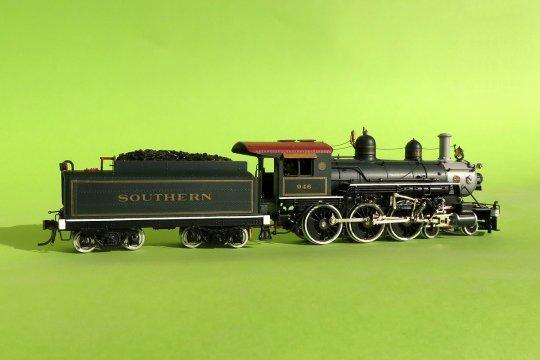 ... den ich mit meinen Palace-Personenwagen von Roundhouse als Pullman-Wagenzug plane.