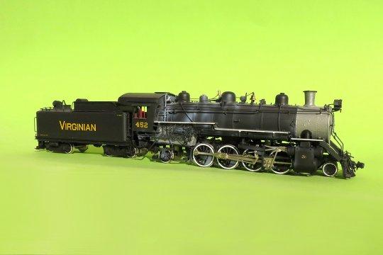 Virginian Railway class MB, Baujahr 1909/1910 - und damit wider Erwarten auch für meinen 1900er Zug gut einsetzbar.