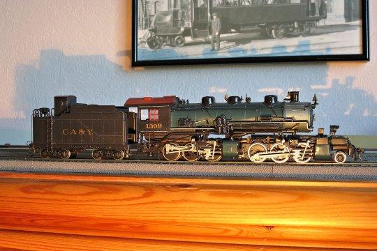 Eine Mallet der Denver & Salt Lake - klein, aber doch ganz gewaltig und schon im Jahr 1912 gebaut. Ein Modell, so ganz nach meinen Vorstellungen!