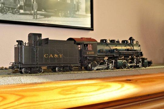 Lediglich die Beschriftung ist nicht zum Original passend - CA&Y? Machen wir was draus - eine neue Bahngesellschaft, die Carlisle, Altoona & Youngstown Ry! Oder vielleicht Carlisle, Adams & York?