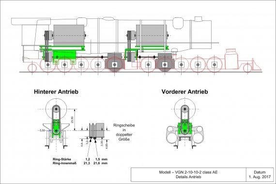 Zwei Motore für zwei unabhängige Antriebsgruppen, das ist erklärtes Ziel! Und damit möglichst wenig schief geht, hier nun die Planung dazu im Detail.