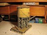 Der Wasserturm, ein unbedingt notwendiges Utensil, denn im Museum gibt es auch betriebsfähige Dampfloks!