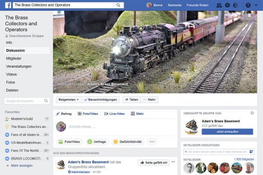 Ganze 10 Monate bei Facebook und dann dieser glückliche Umstand. Bei der Wahl eines neuen Titelbildes für eine Facebook-Gruppe wurde mein Bild als neues Titelbild ausgewählt.
