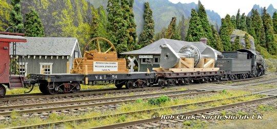 Bilder von meinen Modellen, aufgenommen auf der sehr schönen Anlage meines Freundes Rob Clark aus England. So schön habe ich diese Modelle noch nie in Szene setzen können!