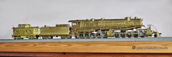 Die große Lok und das kleine zugehörige Anhängsel, ein class C-1 Caboose der Virginian Ry. - nun endlich auch im eigenen Bestand!