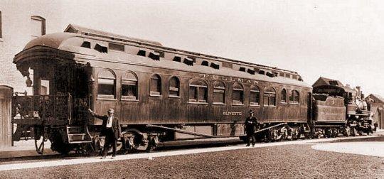 The Superintendent's Special. Eine Lok, ein Wagen - und schon ist ein ganzer Zug fertig!