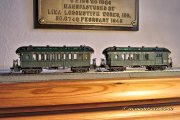 These two passenger cars were built from 60 year old kits and are fine examples of passenger cars around 1900, equipped with additional details, of course.