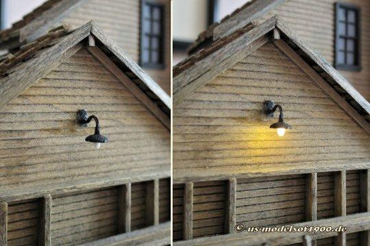 Irgendwann musste ich für einen Bekannten mit meinen Lampen Überzeugungsarbeit leisten und da ist dann noch dieses Bild entstanden.