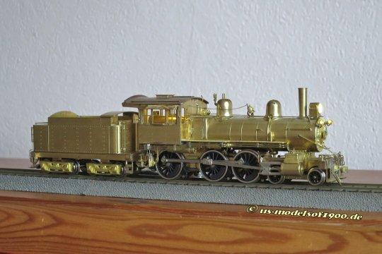 Fertig? Natürlich noch keine Lackierung, das ist eine Arbeit, die ein Freund für mich ausführt - und dann ist eine schöne kleine Lok für einen schönen kleinen alten Zug fertig!