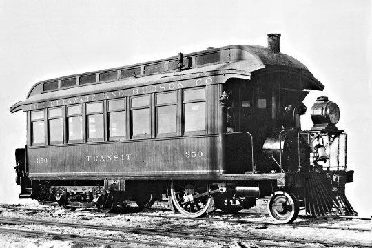 Ist diese Inspections-Lokomotive nicht die Idee für ein ganz besonderes Modellbauprojekt?