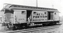 Ein Express-Wagen für  den Transport von Pferden, hier im Speziellen für Ponys der Heyl Pony Farm - Ich denke, ein ziemlich besonderes Fahrzeug. Und daher als Modell zu bauen!
