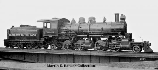 Das Original! Little River no. 126 oder wie sie bei der Columbia Belt Line Railway genannt wurde ''Skookum''.