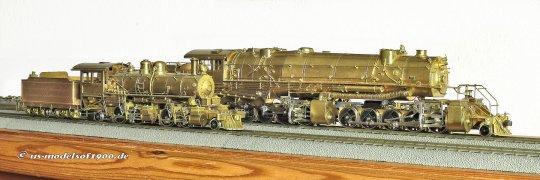 Ein Vergleichsbild von ganz groß zu ganz klein! Beides Mallet-Lokomotiven und beide von mir ganz besonders ins Herz geschlossen!