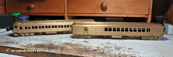 Mit zwei neuen Modellen zu einem neuen Zug, ein Suburban train der Pennsylvania Railroad