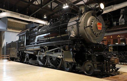 Die No. 460 - ein schönes Bild der aufgearbeiteten Lindbergh-Lok im Railroad Museum of Pennsylvenia, Strasburg. Vielen Dank an Jeff Terry für die Genehmigung zur Nutzung!