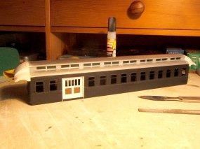 Diesmal aber auch mit Modifikationen wie beim Original! Eine Combine musste es werden, wie es der coach #18 der V&T auch in Realität wurde.