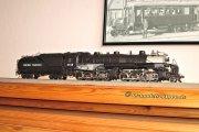 Eine Articulated der Union Pacific, die ich zwar gekauft und fahrfähig gemacht hatte - aber dann doch wieder verkauft habe. Ich hatte meine Sammlung auf die Jahre um 1900 konzentriert, da war dieses Modell dann doch nicht mehr passend!