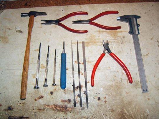 Das Werkzeug.