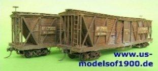 us-modelsof1900.de - B&O boxcar von 1867