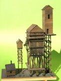 Ein ungewöhnlicher coal tower, Leider immer noch 'under construction'.