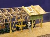 Ein Schuppen für ein Eisenbahnmuseum - abr hier ist der Bauzustand gewollt.