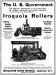 Und hier noch eine Werbeanzeige vom Hersteller dieser Straßenwalze, den Iroquois Iron Works, wie sie in den Jahren 1909 und 1911 in entsprechenden Magazinen geschaltet war.