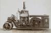Ein altes Foto dieses ''Iroquois steam rollers'', wie er wohl von 1900 bis möglicherweise in die 20er Jahre gebaut wurde. Quelle: The New York Public Library Digital Collections