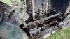 Während der Iroquois eine stehende Dampfmaschine besitzt, hat dieser Roller eine liegende Maschine mit zwei Zylindern, so dass dann auch die Kraftübertragung etwas unterschiedlich ist. Interessant allemal! - Courtesy Dennis Cardy