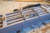 Die selbst gebauten Spanneisen sind auch schon montiert - aber das Problem kommt noch! Denn die zum Bausatz gehörigen Queenpost sind aus einem sehr spröden Weißmetall, sogenanntem Druckerblei.