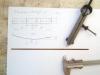 Verstärkungseisen für die Stirnseiten, die (wenigstens beim Vorbild) die Zugkräfte der Spanneisen aufnehmen und breit verteilen sollen.