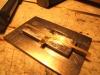 Und die Ecken richtig scharf gebogen. Allerdings war das Hämmerchen doch nicht ganz so große wie in einer Schmiede.