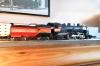 Nun aber einige zusätzliche Details - ein richtiger Entkupplungshebel und die Zugstangen der Bremse sind ergänzt. Siehe auch das vorherige Bild.