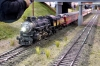 Mein Daylight auf dem Siding von Narrow Village Junction. Da war wohl die Durchfahrt eines schweren Güterzuges abzuwarten.