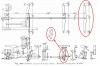 Nun ist die Bremse dran, die ja bei den Treibachsen völlig fehlte. So sieht eine ältere Bremse einer Lok aus, wo mir die Zeichnung gut geeignet erschien, zunächst eine Vorlage für die Diskussion mit dem Gießer abzuleiten. <br />Quelle: Simmons-Boardman Locomotive Cyclopedia 1922